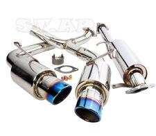 """00-09 S2000 S2K Ap1 Ap2 Jdm Catback Exhaust System+ Muffler Burnt 3.5"""" Tip Kit"""