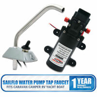 1SAILFLO 12V SELF-PRIMING GALLEY ELECTRIC WATER PUMP FAUCET/TAP Boat/Caravan RV#
