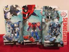 Transformers RID Robots in Disguise Legion Optimus Prime Strongarm Steeljaw