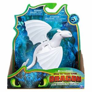 Spin Master 6055073 - Dreamworks Dragons 3 - Drachenfigur, Tagschatten/Lightfury