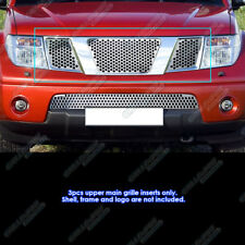 Fits 05-07 Nissan Pathfinder/05-08 Frontier Logo Cover Punch Sheet Grille