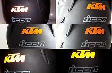 KTM aufkleber reflektierende sticker decal kit 1290 990 200 250 reflective sx