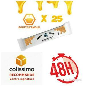 PROMO !!! Miel gouttes 25 d'amour 25 sticks miel 25 du Soudan boîte de 25 sticks