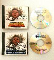 The Brothers Music Powerhouse CD - Gadzooks! & WOW Cds - Lot of 2
