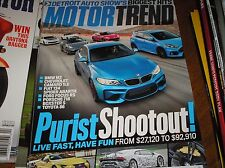 MOTOR TREND  magazine  april 2017   new HEAT from LEXUS,LANBORGHINI & BMW  j-17