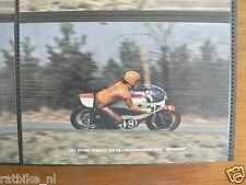 S0410-PHOTO- LEO BOVEE YAMAHA 250 CC HILVARENBEEK 1974 NO 19 MOTO GP