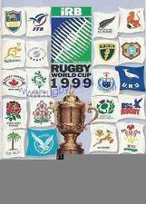 FRANCE/Namibia & Fiji V Canada 1999 Coppa del Mondo di Rugby programma, Legale