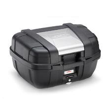 Valigia Monokey KAPPA KGR52 GARDA lt. 52 nera con cover color alluminio