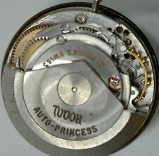 Vintage Lady Rolex Tudor Auto Princess Wrist Watch Movement Date Ticks ASIS#23-2