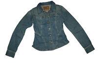NEU! Guess Damen Jeansjacke Jacke Biker Look blau Größe XS 2016001/A1