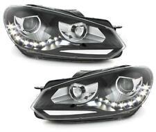 Scheinwerfer mit LED Tagfahrlicht VW Golf 6 VI 2008-2013 schwarz links rechts