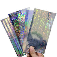 10X Reflective DIY Fishing Lure Sticker Holographic Adhesive Film Flash Tape Hot