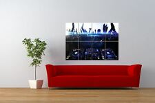 PHOTO MUSIC DANCING PIONEER DJ DECKS TURNTABLES GIANT ART PRINT POSTER NOR0933