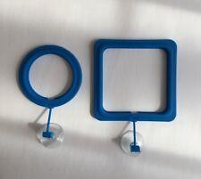 Aquarium Feeding Ring - 2 pieces , Food Grade Material Aquarium Fish Food Kit