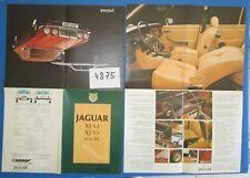 N°4875 /  JAGUAR XJ 4.2 ,XJ 5.3 ,serie III dépliant en français