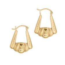 Jewelry Gift for Women and Girls Hoop Earrings 14k Yellow Gold Earring Nice