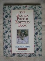'The Beatrix Potter Knitting Book' (1987) by Pat Menchini – excellent condition
