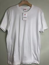9ae3e35eabf0 Supreme Blank Tee T Shirt White Kmart American Apparel Size Large