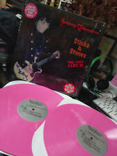 JOHNNY THUNDERS - STICKS AND STONES The Lost Album Pink Vinyl 2 Record Set