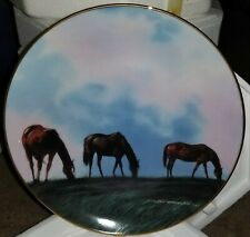 "Danbury Mint Donald W Patterson Plate Collection ""Grazing in the High Meadow"""