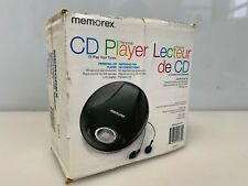 Memorex Personal CD Player MD6451BLK + Earbuds Portable