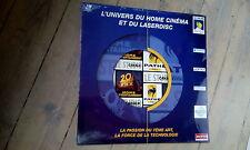 LASER DISC L'UNIVERS HOME CINEMA / PASSION 7ème ART / neuf & scellé