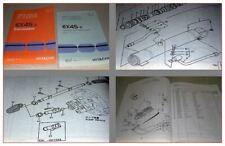 Hitachi EX45-2 Excavator and Equipment Parts catalog 1998