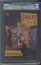 Harley & Ivy: Love on the Lam NN CGC 9.6 NM+ White Pages 2001 Joker Two-Face