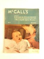🔥 McCall's Magazine May 1940 News Style Fiction & Beauty Vintage Print Ads