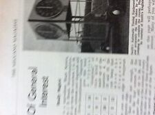 m5-1b ephemera  1950s picture smith's automatic timing equipment clocks ltd