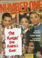 NUMBER ONE MAGAZINE FIVE STAR KYLIE TAYLOR DAYNE JERMAINE STEWART APRIL 1988