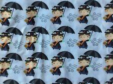 FQ Disney Mary poppins paraguas Personaje De Tela Polycotton niñera película