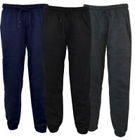 Mens Premium Jogging Fleece Bottoms Joggers Casual Trousers Gym S-XXL