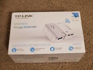 TP-LINK N300 Range 2-Port Powerline WiFi Extender Kit TL - WPA4226 KIT (R1)