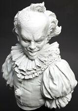 1/10 115mm BUST Resin Figure Model Kit Scary Clown Ghost Unpainted Unassambled