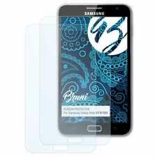 Bruni 2x Schermfolie voor Samsung Galaxy Note GT-N7000 Screen Protector