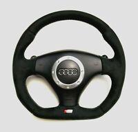 Steering Wheel Audi TT 3.2 V6 VR6 NEW ALCANTARA  !! STUNING FLAT BOTTOM