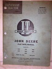 John Deere Tractor, 1,2, 3, 4, 5000 series, manual. Item: 0965