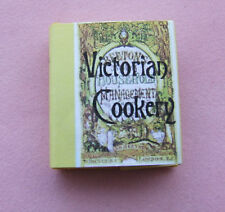 Dollshouse Miniature Book - Victorian Cook Book