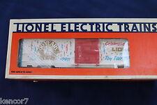 1990 Lionel 6-19911 New York Toy Fair Box Car L2946
