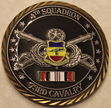 82nd Airborne 4th Sq 73rd Cavalry Task Force 3 FURY OEF X/10 Army Challenge Coin