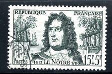 STAMP / TIMBRE FRANCE OBLITERE N° 1208 CELEBRITE / ANDRE LE NOTRE