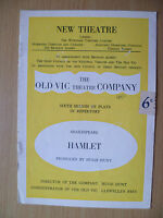 New Theatre Programme 1950- HAMLET by William Shakespeare