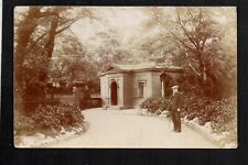 Salford, Buile Hill Park - real photographic postcard