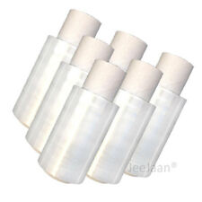 10 ROLLS OF MINI HANDY PALLET STRETCH SHRINK WRAP CLEAR Free Express Delivery