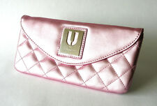 UNGARO CLUTCH BAG ~ Metallic Pink Quilted ~ For Avon Australia ~  NEW