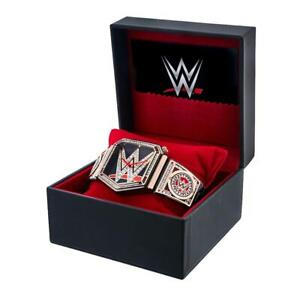 Official WWE Authentic  Championship Title Belt Collector's Watch Multi
