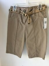 Girls Size 8 Khaki Long Shorts