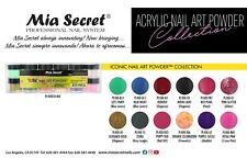 NEW! Mia Secret Nail Art Acrylic Professional Powder 12 Color Set - ICONIC