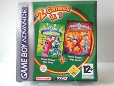 GameBoy Advance Spiel - 2in1 Power Rangers / Time Force & Ninja Storm (mit OVP)